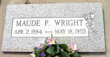 FULGUM WRIGHT, MAUDE PININA - Yavapai County, Arizona | MAUDE PININA FULGUM WRIGHT - Arizona Gravestone Photos