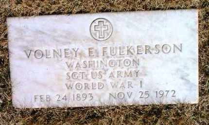 FULKERSON, VOLNEY EVERETT - Yavapai County, Arizona | VOLNEY EVERETT FULKERSON - Arizona Gravestone Photos
