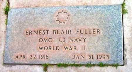 FULLER, ERNEST BLAIR - Yavapai County, Arizona | ERNEST BLAIR FULLER - Arizona Gravestone Photos