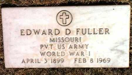FULLER, EDWARD DEVELIA - Yavapai County, Arizona | EDWARD DEVELIA FULLER - Arizona Gravestone Photos