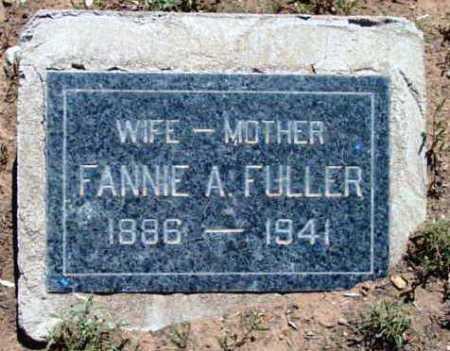 FULLER, FANNIE ALTHERA - Yavapai County, Arizona | FANNIE ALTHERA FULLER - Arizona Gravestone Photos