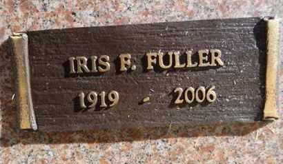 FULLER, IRIS FERN - Yavapai County, Arizona | IRIS FERN FULLER - Arizona Gravestone Photos
