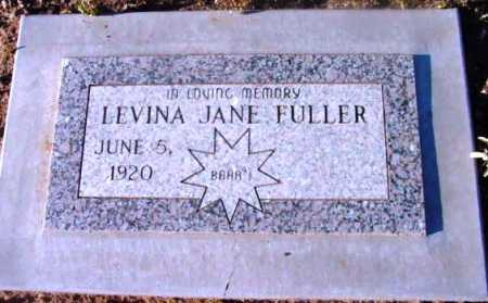 FULLER, LEVINA JANE - Yavapai County, Arizona | LEVINA JANE FULLER - Arizona Gravestone Photos