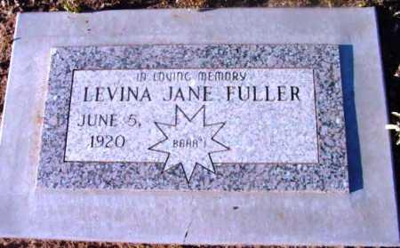 FULLER, LEVINA JANE - Yavapai County, Arizona | LEVINA JANE FULLER - Arizona Gravestone Photos
