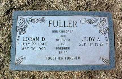 FULLER, JUDY A. - Yavapai County, Arizona | JUDY A. FULLER - Arizona Gravestone Photos