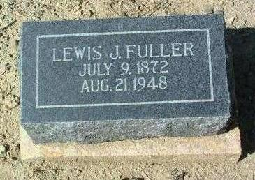 FULLER, LEWIS J. - Yavapai County, Arizona | LEWIS J. FULLER - Arizona Gravestone Photos