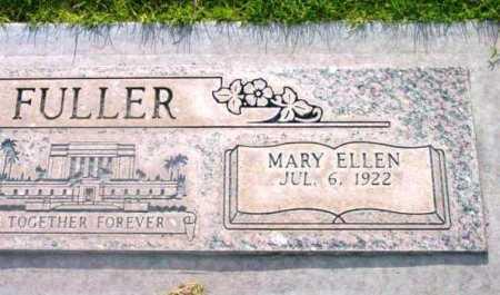 FULLER, MARY ELLEN - Yavapai County, Arizona | MARY ELLEN FULLER - Arizona Gravestone Photos