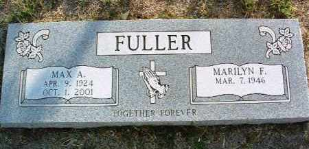 FULLER, MARILYN FRANCES - Yavapai County, Arizona | MARILYN FRANCES FULLER - Arizona Gravestone Photos