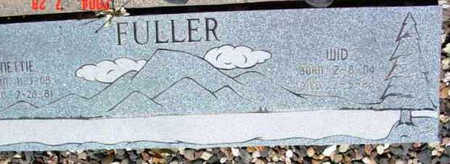 FULLER, ROBERT W. (WID) - Yavapai County, Arizona | ROBERT W. (WID) FULLER - Arizona Gravestone Photos