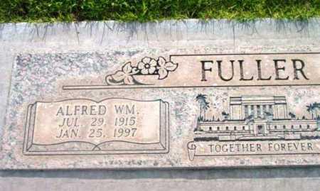 FULLER, ALFRED WILLIAM - Yavapai County, Arizona   ALFRED WILLIAM FULLER - Arizona Gravestone Photos