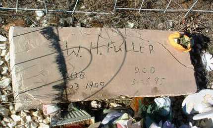 FULLER, W. H. - Yavapai County, Arizona | W. H. FULLER - Arizona Gravestone Photos