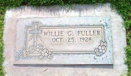 FULLER, WILLIE GENE - Yavapai County, Arizona   WILLIE GENE FULLER - Arizona Gravestone Photos