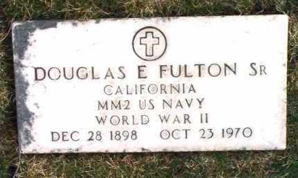 FULTON, DOUGLAS EUGENE - Yavapai County, Arizona   DOUGLAS EUGENE FULTON - Arizona Gravestone Photos