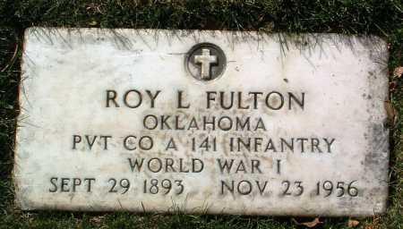 FULTON, ROY LEE - Yavapai County, Arizona | ROY LEE FULTON - Arizona Gravestone Photos