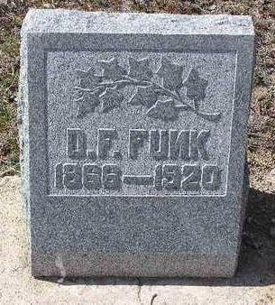 FUNK, DAVID  F. - Yavapai County, Arizona | DAVID  F. FUNK - Arizona Gravestone Photos