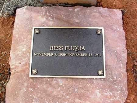 FUQUA, BESSIE - Yavapai County, Arizona   BESSIE FUQUA - Arizona Gravestone Photos