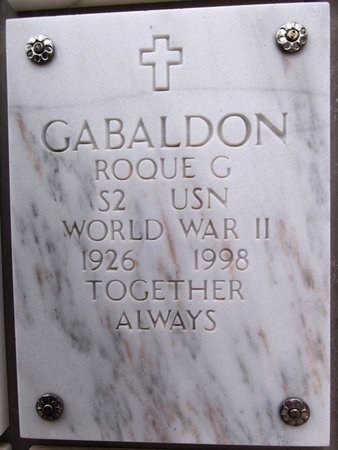 GABALDON, ROQUE G. - Yavapai County, Arizona | ROQUE G. GABALDON - Arizona Gravestone Photos