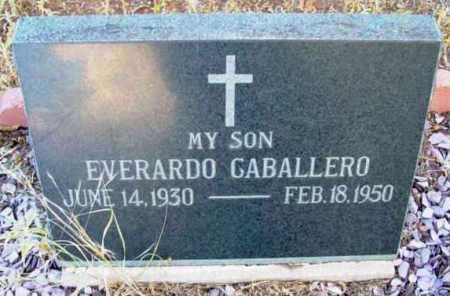CABALLERO, EVERARDO R. - Yavapai County, Arizona | EVERARDO R. CABALLERO - Arizona Gravestone Photos