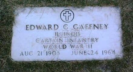 GAFFNEY, EDWARD  G. - Yavapai County, Arizona | EDWARD  G. GAFFNEY - Arizona Gravestone Photos