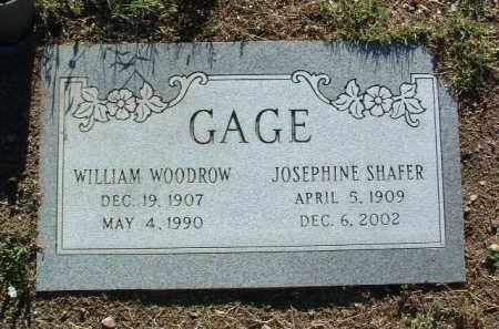 SHAFER GAGE, JOSEPHINE - Yavapai County, Arizona | JOSEPHINE SHAFER GAGE - Arizona Gravestone Photos
