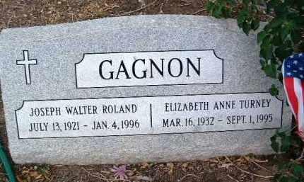 GAGNON, ELIZABETH ANN - Yavapai County, Arizona | ELIZABETH ANN GAGNON - Arizona Gravestone Photos
