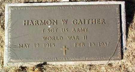 GAITHER, HARMON W. - Yavapai County, Arizona | HARMON W. GAITHER - Arizona Gravestone Photos