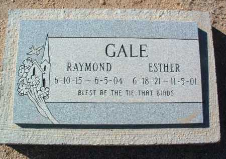 GALE, RAYMOND E. - Yavapai County, Arizona | RAYMOND E. GALE - Arizona Gravestone Photos
