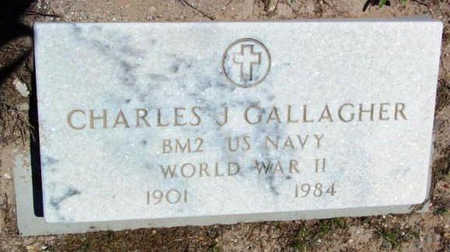 GALLAGHER, CHARLES J - Yavapai County, Arizona | CHARLES J GALLAGHER - Arizona Gravestone Photos