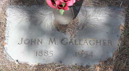 GALLAGHER, JOHN M. - Yavapai County, Arizona | JOHN M. GALLAGHER - Arizona Gravestone Photos