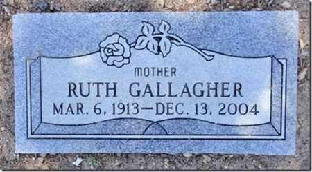 GALLAGHER, RUTH B. - Yavapai County, Arizona   RUTH B. GALLAGHER - Arizona Gravestone Photos