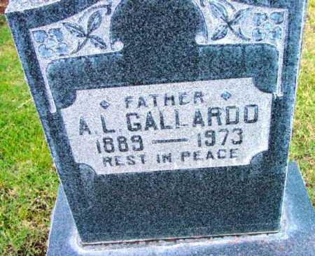 GALLARDO, A. L. - Yavapai County, Arizona | A. L. GALLARDO - Arizona Gravestone Photos