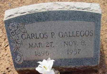 GALLEGOS, CARLOS P. - Yavapai County, Arizona | CARLOS P. GALLEGOS - Arizona Gravestone Photos