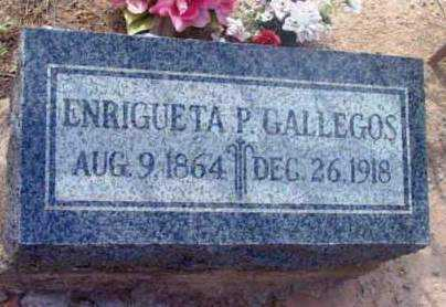 GALLEGOS, ENRIGUETA P. - Yavapai County, Arizona | ENRIGUETA P. GALLEGOS - Arizona Gravestone Photos