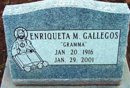 GALLEGOS, ENRIQUETA M. - Yavapai County, Arizona | ENRIQUETA M. GALLEGOS - Arizona Gravestone Photos