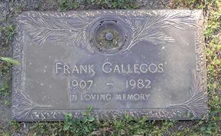 GALLEGOS, FRANK - Yavapai County, Arizona | FRANK GALLEGOS - Arizona Gravestone Photos