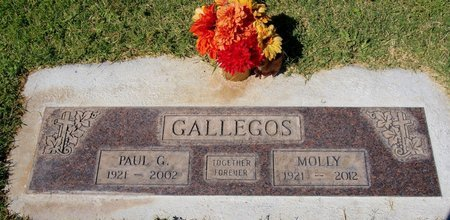 GALLEGOS, MOLLY - Yavapai County, Arizona | MOLLY GALLEGOS - Arizona Gravestone Photos