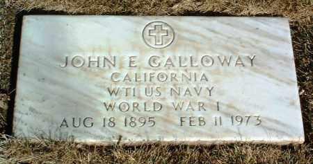 GALLOWAY, JOHN E. - Yavapai County, Arizona | JOHN E. GALLOWAY - Arizona Gravestone Photos