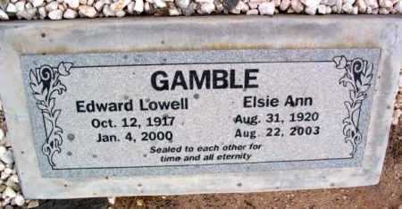 GAMBLE, ELSIE ANN - Yavapai County, Arizona | ELSIE ANN GAMBLE - Arizona Gravestone Photos