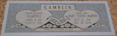 GAMBLIN, CLARENCE - Yavapai County, Arizona | CLARENCE GAMBLIN - Arizona Gravestone Photos