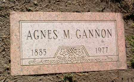 GANNON, AGNES M. - Yavapai County, Arizona | AGNES M. GANNON - Arizona Gravestone Photos