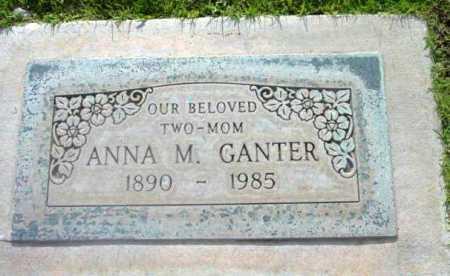 GANTER, ANNA M. - Yavapai County, Arizona | ANNA M. GANTER - Arizona Gravestone Photos