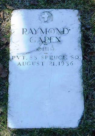 GAREN, RAYMOND ROBERT - Yavapai County, Arizona   RAYMOND ROBERT GAREN - Arizona Gravestone Photos