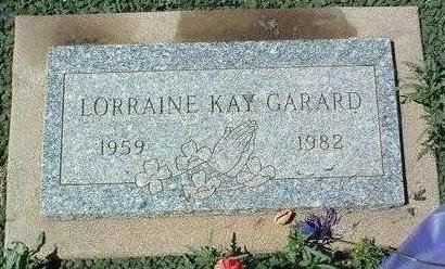 GARARD, LORRAINE KAY - Yavapai County, Arizona | LORRAINE KAY GARARD - Arizona Gravestone Photos