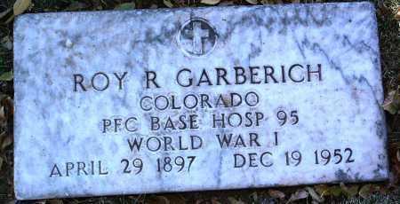 GARBERICH, ROY R. - Yavapai County, Arizona | ROY R. GARBERICH - Arizona Gravestone Photos