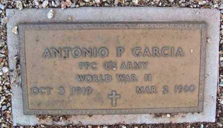 GARCIA, ANTONIO P. - Yavapai County, Arizona   ANTONIO P. GARCIA - Arizona Gravestone Photos