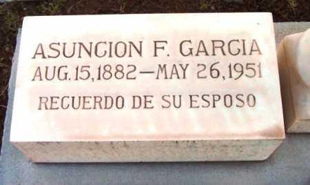 GARCIA, ASUNCION F. - Yavapai County, Arizona | ASUNCION F. GARCIA - Arizona Gravestone Photos