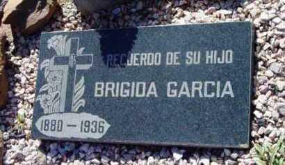 GARCIA, BRIGIDA - Yavapai County, Arizona | BRIGIDA GARCIA - Arizona Gravestone Photos