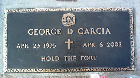 GARCIA, GEORGE DAVID - Yavapai County, Arizona | GEORGE DAVID GARCIA - Arizona Gravestone Photos
