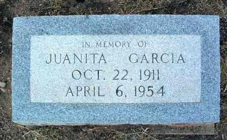 GARCIA, JUANITA - Yavapai County, Arizona | JUANITA GARCIA - Arizona Gravestone Photos