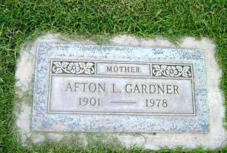 GARDNER, AFTON LUELLA - Yavapai County, Arizona | AFTON LUELLA GARDNER - Arizona Gravestone Photos